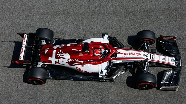 Alfa romeo racing orlen spanish gp