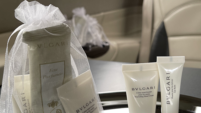 Bulgari product selection globeair