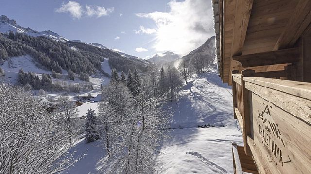 View of chalet Courchevel