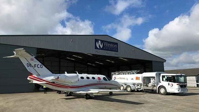 GlobeAir private jets in the Uk