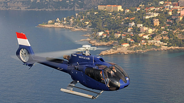 Helicopter charter globeair