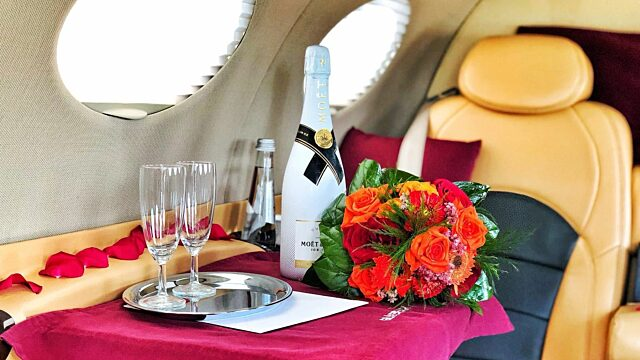Private jet st valentine day travel globeair