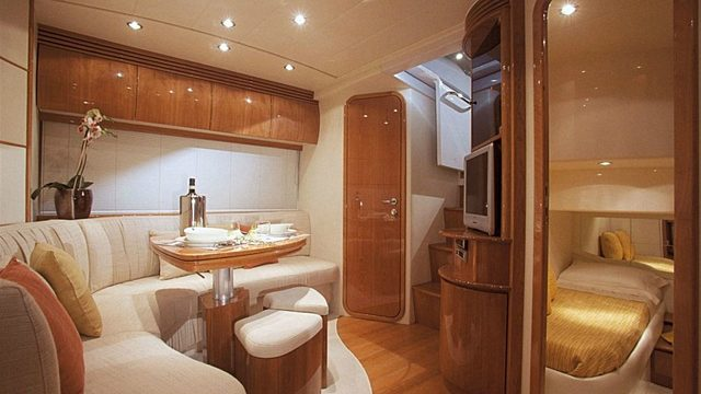 Short stay yacht room
