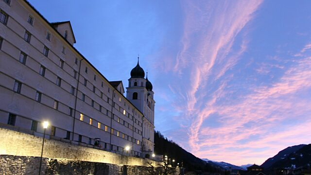 Swiss alps classics kloster picture