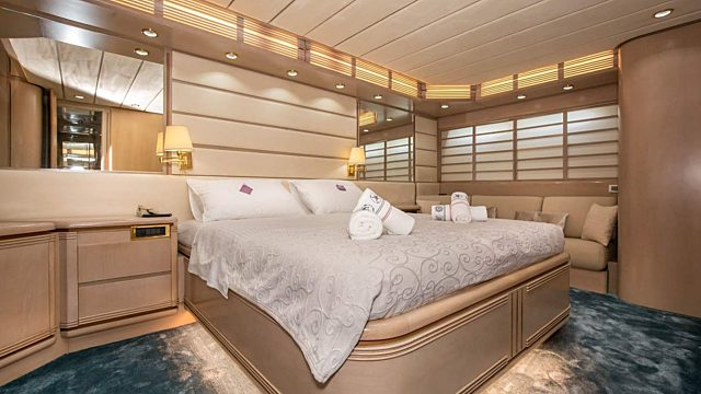 Week croatia package long stay yacht interior