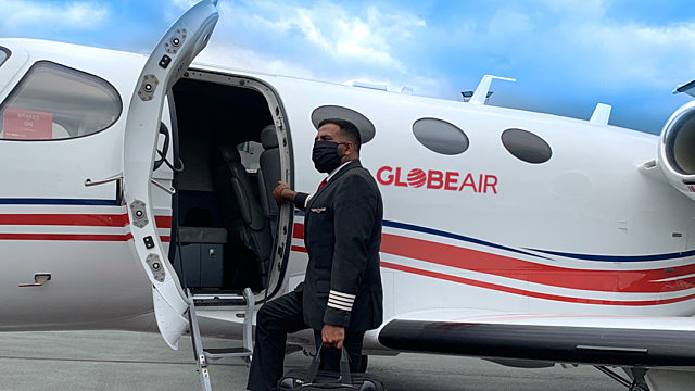 Globeair pilot mask covid19
