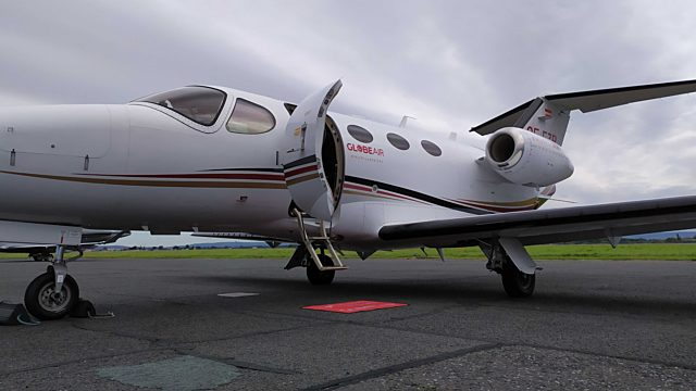 Private jet travels 2020